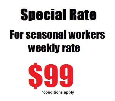 Special rate for seasonal workers